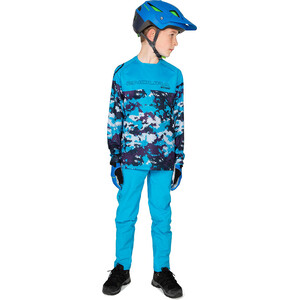 Endura MT500JR LS Jersey Kids blå blå