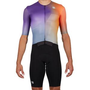 Sportful Bomber Anzug Herren orange violet orange violet