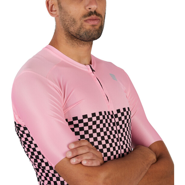Sportful Checkmate Jersey Men, rose