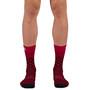 Sportful Checkmate Socken rot/schwarz