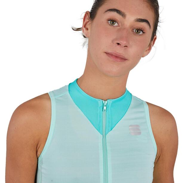 Sportful Kelly Ärmelloses Trikot Damen acqua green