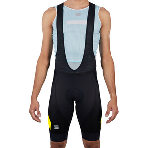 Sportful Neo Trägershorts Herren black yellow fluo black yellow fluo