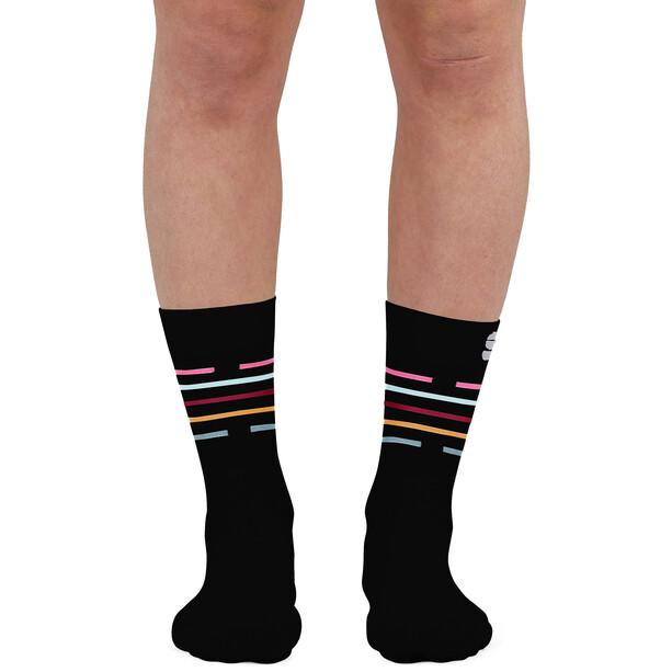 Sportful Vélodrome Socken Damen black multicolor
