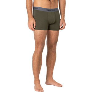 super.natural Base 175 Mid Boxershorts Herren olive night olive night