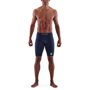 Skins Series-1 Half Tights Herren navy blue navy blue