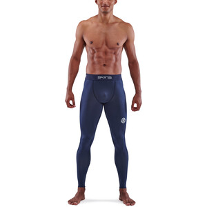 Skins Series-1 Long Tights Men, navy blue navy blue
