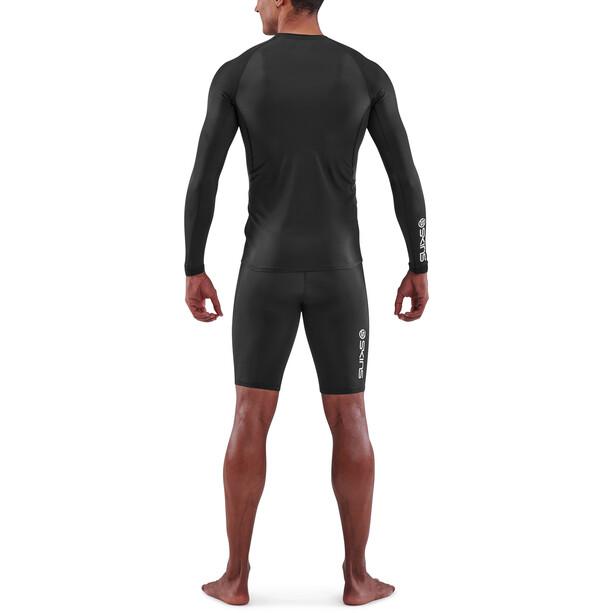Skins Series-1 Langarmshirt Herren black