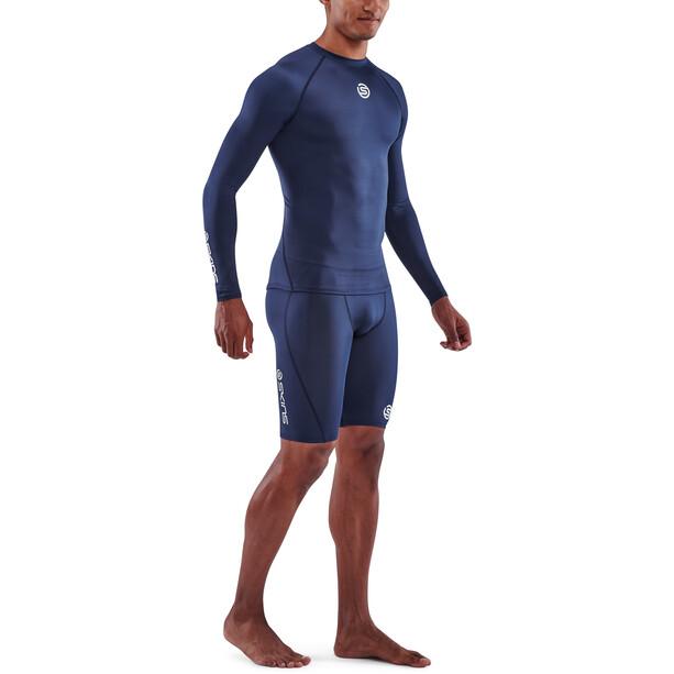 Skins Series-1 Langarmshirt Herren blau