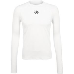 Skins Series-1 LS-skjorte Herrer, hvid hvid
