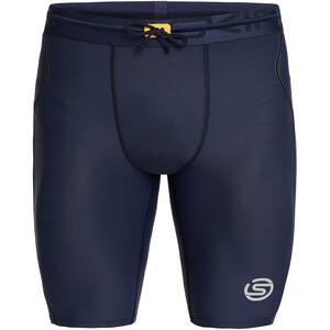 Skins Series-3 Half Tights Men navy blue navy blue