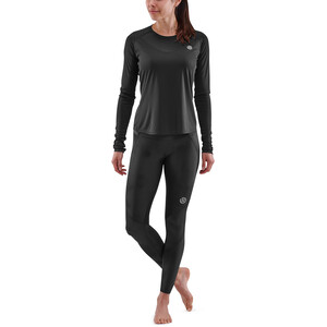 Skins Series-3 LS Top Women, black black