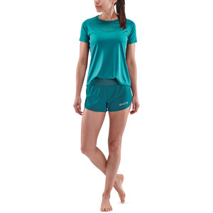 Skins Series-3 Run Shorts Women, teal teal