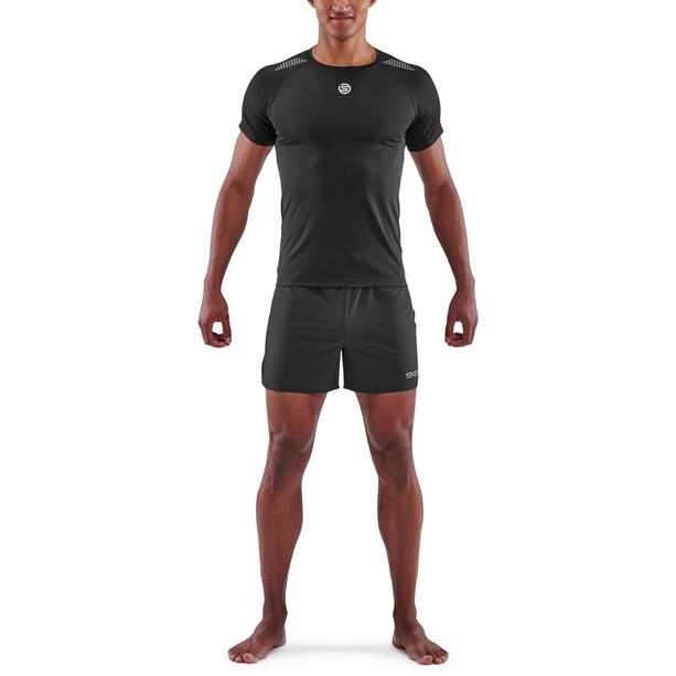 Skins Series-3 Kurzarm Oberteil Herren black