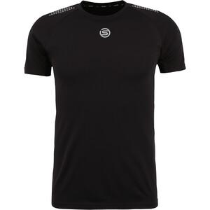 Skins Series-3 Kurzarm Oberteil Herren black black