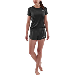 Skins Series-3 SS Top Women, black black
