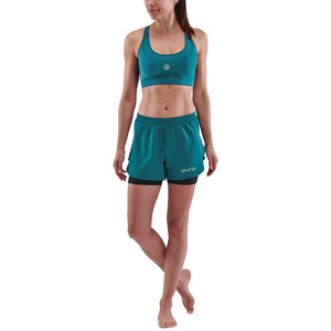 Skins Series-3 X-Fit Shorts Damen teal teal