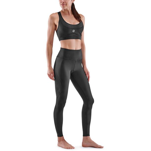 Skins Series-3 Compression Lange Tights Damen schwarz