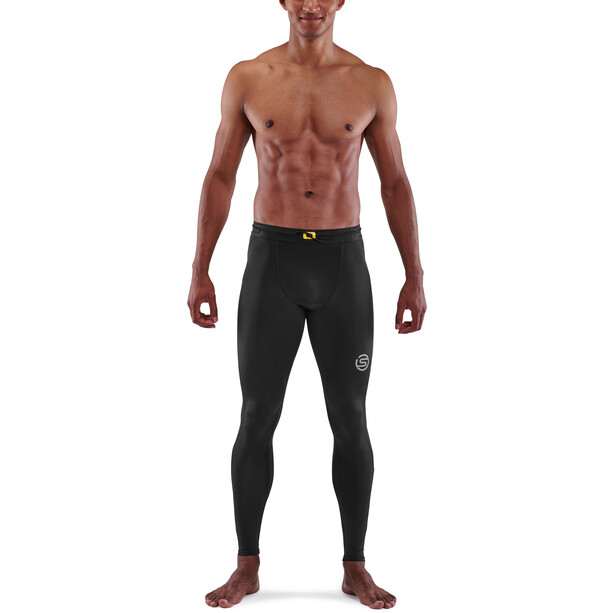 Skins Series-3 T&R Lange Tights Herren black