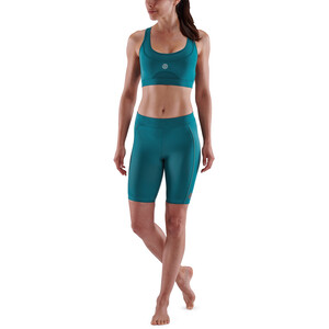Skins Series-5 Half Tights Damen teal teal