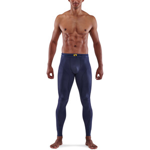 Skins Series-5 Long Tights Men, navy blue navy blue