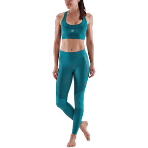 Skins Series-5 Lange Tights Damen teal teal