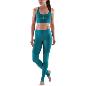 Skins Series-5 Compression Lange Tights Damen teal teal