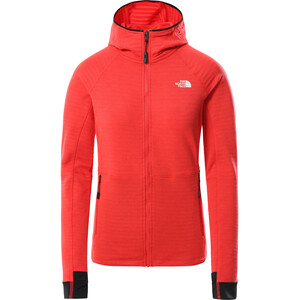 The North Face Circadian Midlayer Hoodie Women horizon red heather horizon red heather