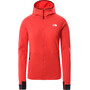 The North Face Circadian Midlayer Hoodie Women horizon red heather