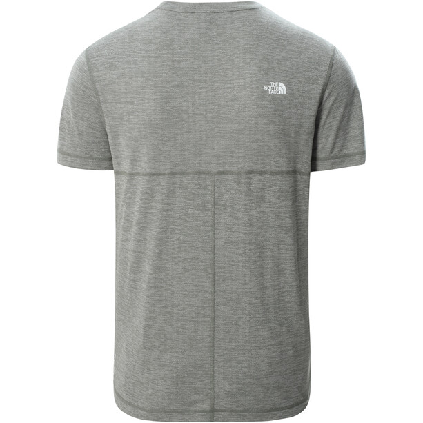 The North Face Lightning SS Tee Men agave green/white heather