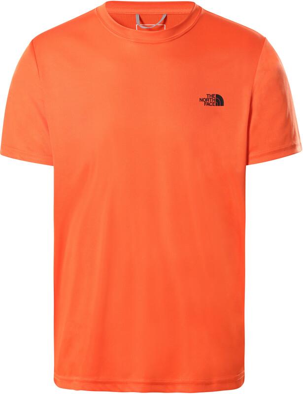 The North Face Reaxion Amp Crew T-Shirt Herr orange M 2021 Kortärmade Löpartröjor