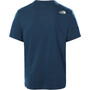The North Face Walls Are For Climbing SS Tee Men blå