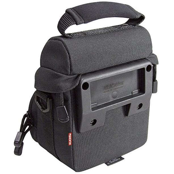 KlickFix Allrounder XS Handlebar Bag, musta