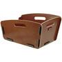 KlickFix Radkiste Cargo Korb mit Clip braun