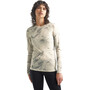 Icebreaker 200 Oasis Crewe LS Shirt Nature Dye Women seed
