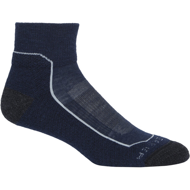 Icebreaker Anatomica Hike Light Mini Socks Men midnight navy