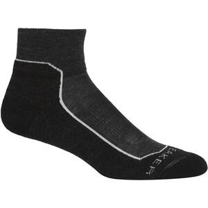 Icebreaker Anatomica Hike Light Mini Socks Women grå/vit grå/vit