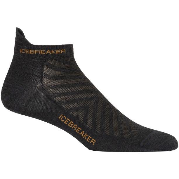 Icebreaker Run+ Ultralight Micro Socks Women jet heather