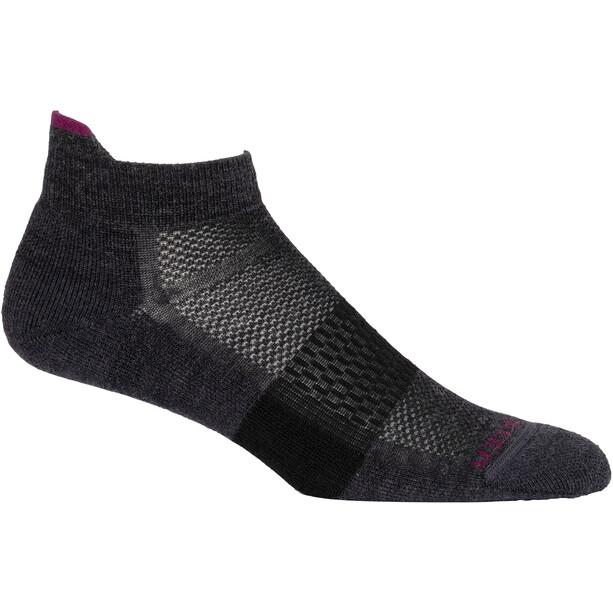 Icebreaker Sport Light Micro Socks Women jet heather