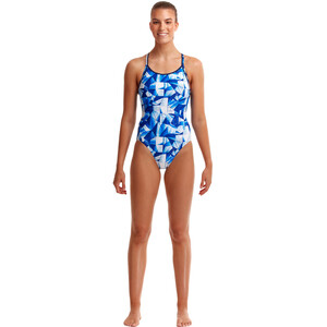 Funkita Diamond Back Badeanzug Damen fast glass fast glass