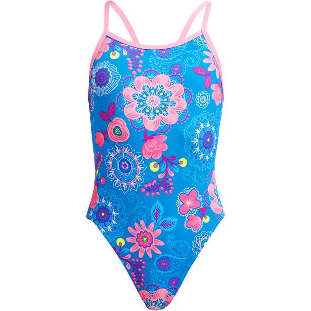 Funkita Single Strap Swimsuit Girls, Multicolore