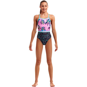 Funkita Strapped In Badeanzug Mädchen twilight session twilight session