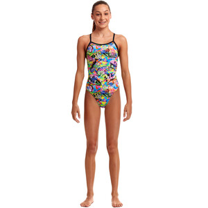 Funkita Tie Me Tight Swimsuit Girls fossil fuel fossil fuel