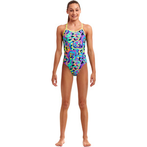 Funkita Twisted Badeanzug Mädchen bio cell bio cell