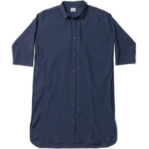 Houdini Route Shirt Dress Dam blå blå