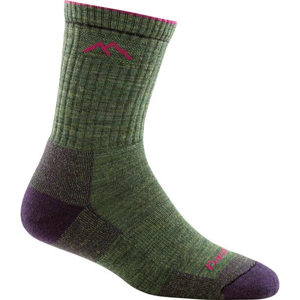 DARN TOUGH VERMONT Hiker Micro Crew Midweight Cushion Socks Women grön
