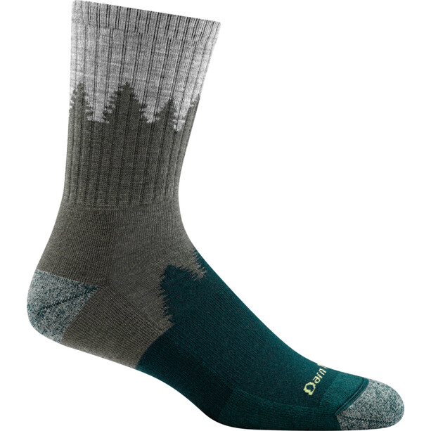 DARN TOUGH VERMONT Number 2 Micro Crew Cushion Socks Men green