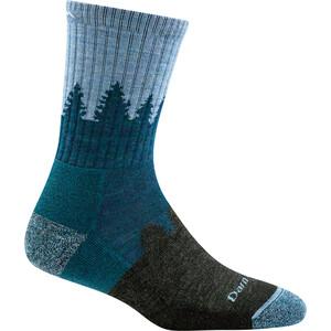 DARN TOUGH VERMONT Treeline Micro Crew Cushion sokker Dame Blå Blå