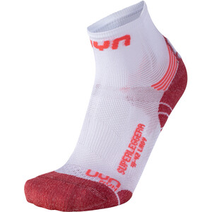 UYN Run Superleggera Socken Damen white/coral white/coral
