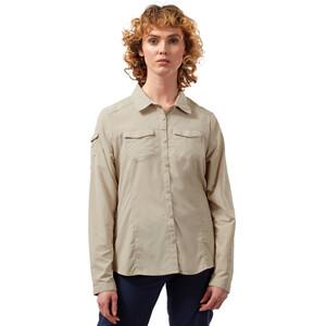 Craghoppers NosiLife Adventure II Long Sleeved Shirt Dam beige beige