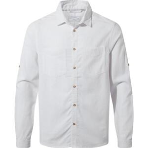 Craghoppers Villar Long Sleeved Shirt Men vit vit